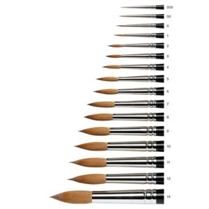 Winsor & Newton Series 7 Kolinsky Sable Brushes