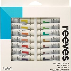 Reeves Watercolour Set of 18 x 12ml