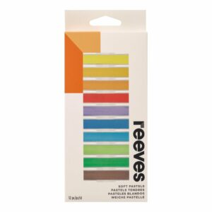 Reeves Soft Pastels Set of 12