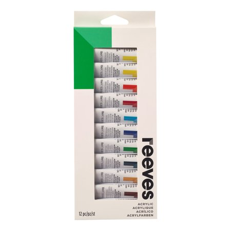 Reeves Acrylic Painting Set 12 x 12ml