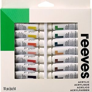 Reeves Acrylic Painting Set 18 x 12ml