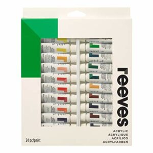 Reeves Acrylic Painting Set 24 x 10ml