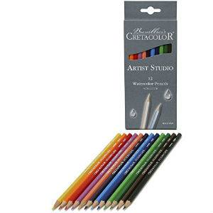 CRETACOLOR ARTIST STUDIO WATERCOLOR PENCILS 12