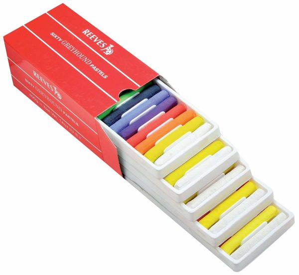 REEVES GREYHOUND SOFT PASTELS SET (PACK OF 60)