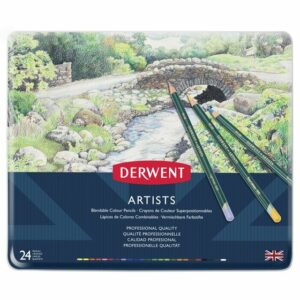 DERWENT ARTIST COLOUR PENCILS 24