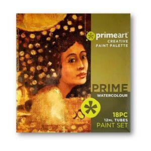 PRIME ART WATERCOLOUR SET 18 X 12ML