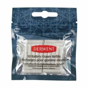 DERWENT ERASER REFILLS - PACK OF 30