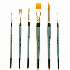 PRIME ART 365 GOLDEN TAKLON BRUSHES