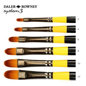 Daler-Rowney System 3 Filbert