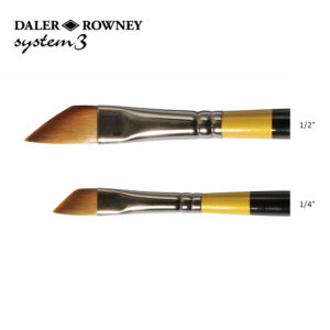 Daler-Rowney System 3 Sword Brushes