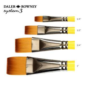 Daler-Rowney System 3 Short Flat