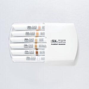 Pigment Marker 6 Set Skin Tones